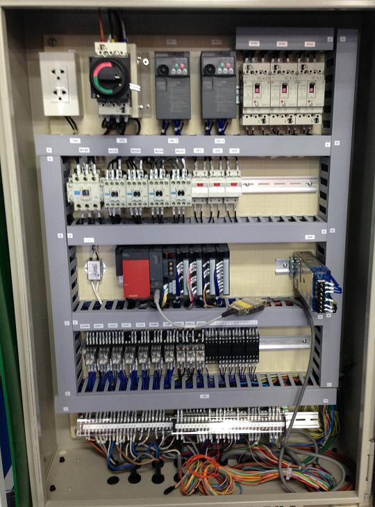 ロボット設備の電気制御・プログラミング